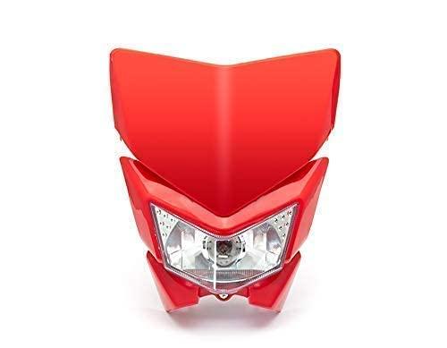 Moto Phare - Streetfighter & Supermoto - Rouge - 12V 35W