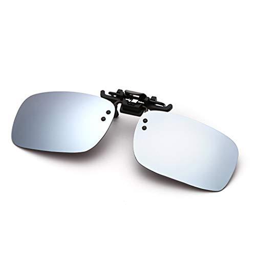 Preisvergleich Produktbild Sonnenbrillen Herren / Damen UV400 polarisierten Sonnenbrillen Nachtsichtbrille Praktische Brille Clip on Spiegel
