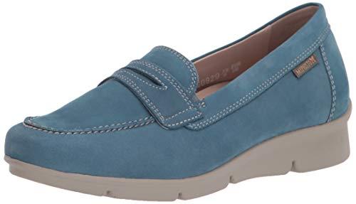 Mephisto Women's Loafer Flat, Blue, 7.5