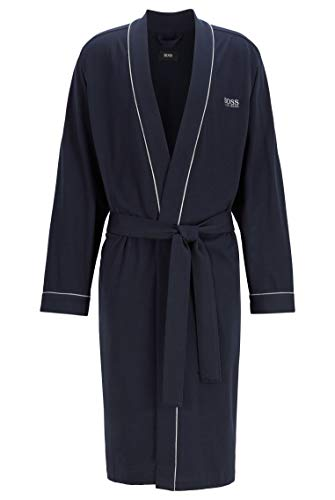 BOSS Kimono BM Albornoz, Azul (Dark Blue 403), S para Hombre