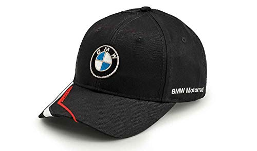 BMW Moto Motorsport - Cappellino nero con logo