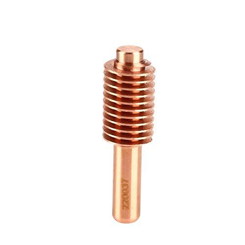 Electrodos de corte por plasma, consumibles de corte por plasma Alta eficiencia de soldadura 5 piezas de cobre de telurio para antorcha de corte por plasma MAX1650