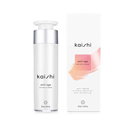 Kaishi - Crema antienvejecimiento con retinol para pieles maduras o con puntos negros, 50 ml