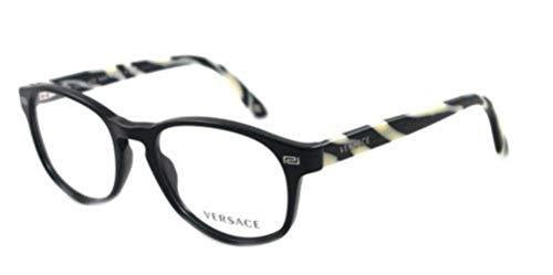 Versace VE3133 Eyeglasses-GB1 Shiny Black-51mm