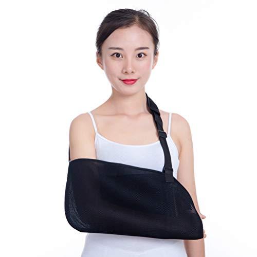 Heallily Arm Sling 1pcs Adjustable Shoulder Immobilizer Shoulder Brace Elbow Support Brace for Borken Arm Recovery