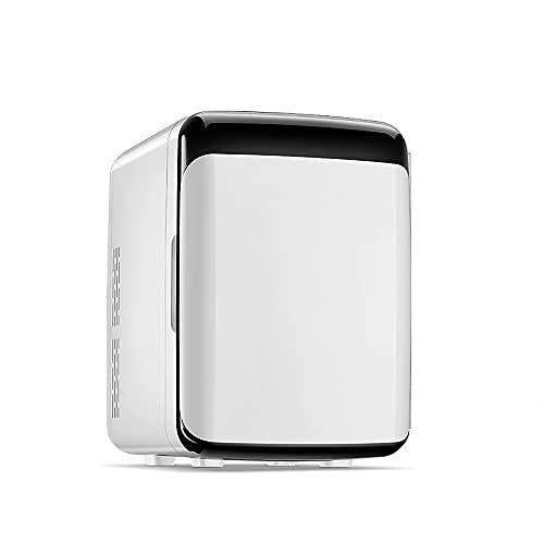 QPMY Mini Refrigerador, Refrigerador Pequeño De 3.5 Pies Cúbicos, Calefacción Y Enfriamiento Ajustables, Estante Extraíble, Ahorro De Energía Y Protección del Medio Ambiente