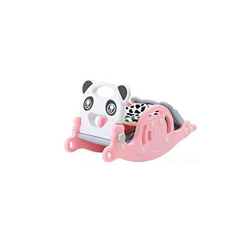 Great Price! FSGHJJKN Rocking Horse, Animal Ride on Rocker for Kids, Rocking Horse Slide Two-in-one ...