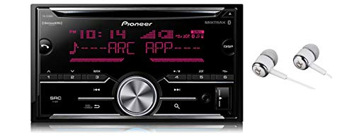 Pioneer Double DIN In-Dash Built-in Bluetooth iPod iPhone HD Radio CD...