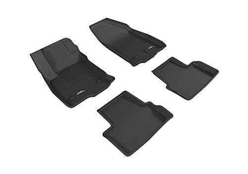 3D MAXpider Custom Fit All-Weather Floor Mat for Select Chevrolet Volt Models