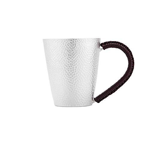 XXSC-ZC Copa de Vino de Plata esterlina, Taza de Agua Copa de cóctel de Taza de té de la Taza de Vino, Taza de Taza de café Taza de Taza de café, Taza de Plata de la Oficina en casa,220ML