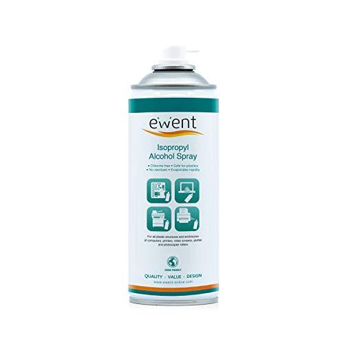 Ewent EW5611 - Pulverizador de Alcohol isopropílico Spray 400ml, Transparente
