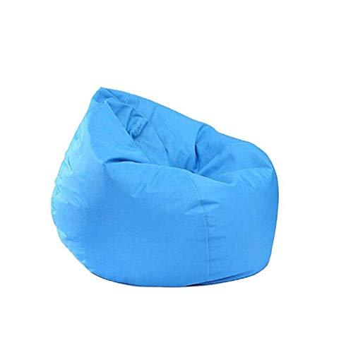 Greetuny - Funda de Asiento - Funda para sofá sin Relleno - Tejido Comfort - Porta Juegos Infantil 11 Colores Pick (Rojo), Cielo BLU