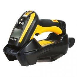 Datalogic PM9100, 1D, multi-IF, disp, Kit (RS232), RB, scanner sans fil noir, jaune