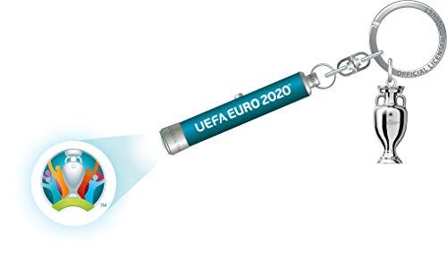 UEFA Euro 2020 Led-sleutelring, uniseks, volwassenen, meerkleurig, 63 mm