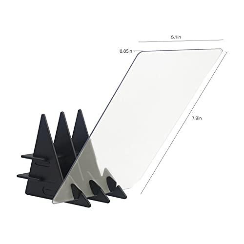 JINQIANSHANGMAO Nuevo boceto Asistente de rastreo Dibujo Tablero óptico Dibujo proyector Dibujo reflexión línea de Trazo Mesa (Color : White)