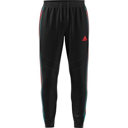 adidas Tiro 19 – Pantalones para hombre - S1906GHTAN105, Tiro 19 Pantalones, XS, Negro/Rojo/Blanco