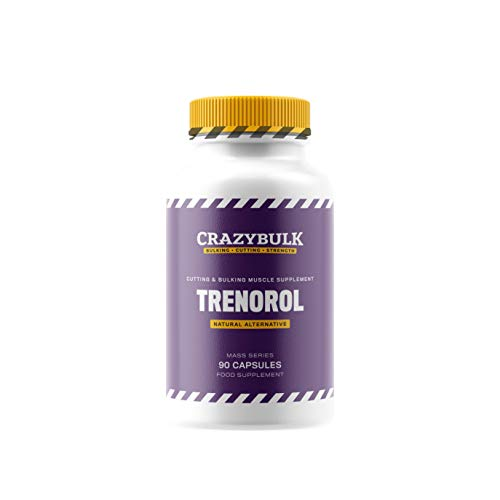 CrazyBulk Trenorol Natural Bodybuilding Supplement for Mass Muscle Gains, Cutting and Bulking Phases, Strength and Conditioning (90 Capsules)
