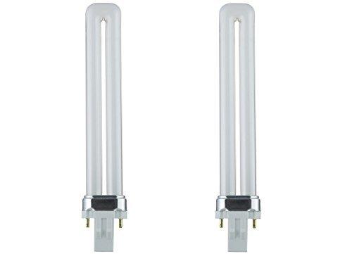 Sunlite PL13/SP41K 13-Watt Compact Fluorescent Plug-In 2-Pin Light Bulb, 4100K Color (2 Pack, 4100K Color)