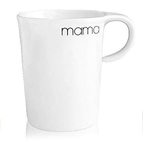 BonApart Becher Kaffeebecher Teebecher Henkelbecher mit Schriftzug Made in Germany (Mama)