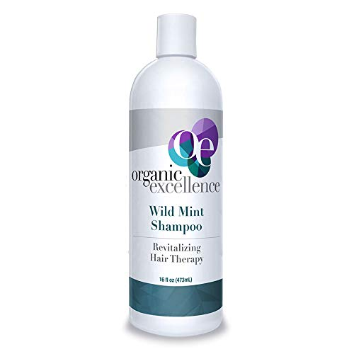 Organic Excellence Wild Mint Shampoo - 16 oz