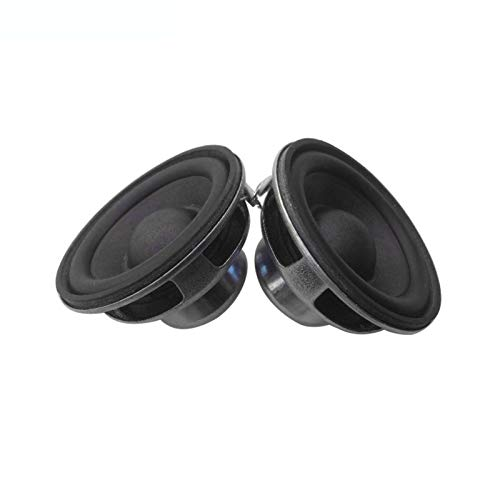 ADUCI 2 unids 4 Ohm Altavoz de Rango Completo 5 W 45mm DIY Portátil Mini Altavoz Radio Bluetooth Altavoz Música Música 1 Pulgada Altavoces