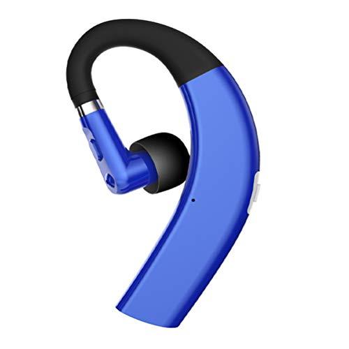 ABOOFAN 1 gancho para la oreja auricular inalámbrico conducción ósea colgante auriculares de negocios para amigos (azul) accesorios del teléfono