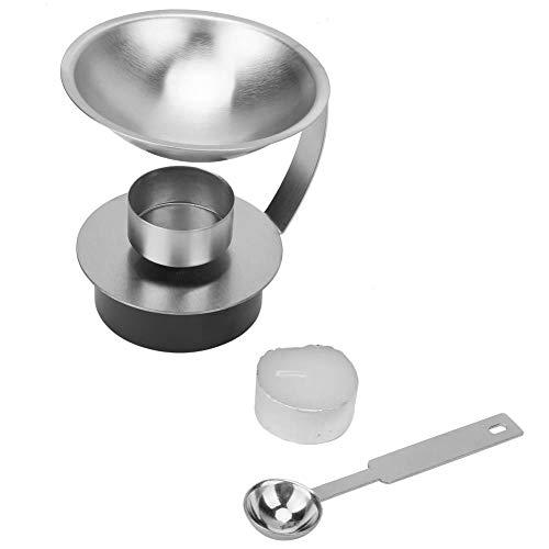 Verstelbare Wax Sealing Warmer Sets met Smelting Lepel en Kaars Wax Kralen Roestvrij Staal Verwarming Tool voor het Afdichten Stamp Maken