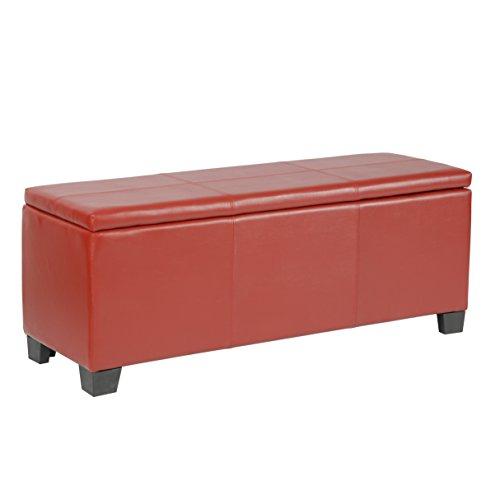 American Furniture Classics Model Fusion Red gun concealment bench,