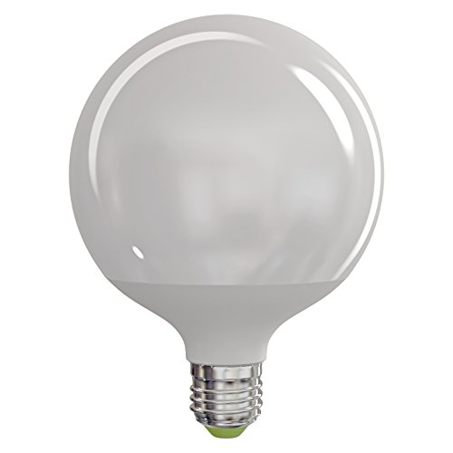 EMOS LED Lampe Globe/Energieklasse A+ / 18 W/Ersetzt 100W / E27 / 1521 Lumen/Neutralweiß (4100 Kelvin) / 30000 Stunden Lebensdauer