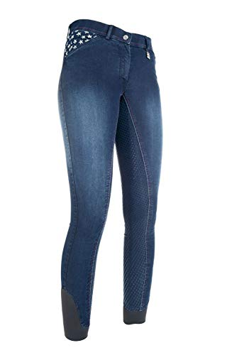 HKM dames jeans rijbroek Stars & Stripes