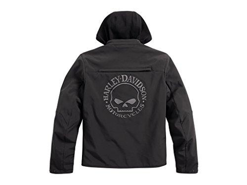 HARLEY-DAVIDSON Reflective Skull 3-in-1 Soft Shell Riding Jacke, 98164-17EM, XXL