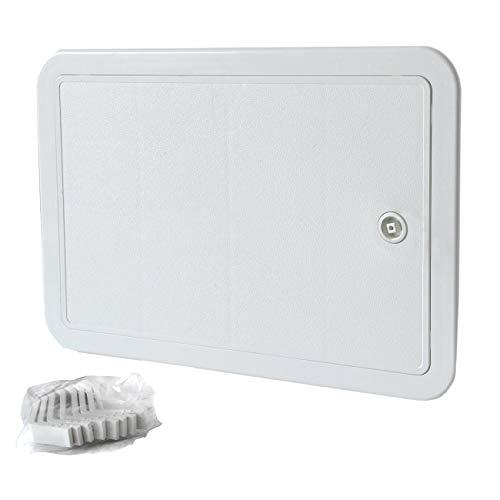 La Ventilazione SI3020B Puerta de inspección de ABS, Color Blanco, 315x215 mm