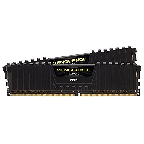 Corsair Vengeance LPX 32Go 2x16Go DDR4 3000MHz C16 XMP 2.0 Kit de Mémoire Haute Performance Black