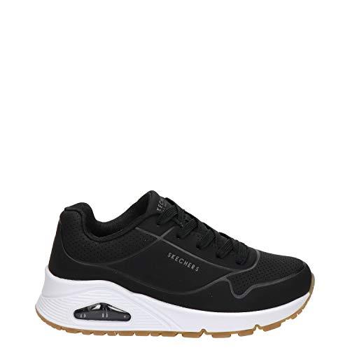 Skechers UNO Stand ON Air, Zapatillas, Black, 27.5 EU