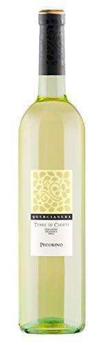 12x 0,75l - 2017er - Quercianera - Pecorino - Terre di Chieti I.G.T. - Abruzzen - Italien - Weißwein trocken
