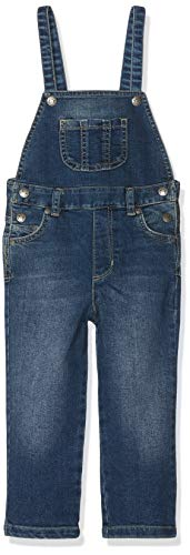Bellybutton mother nature & me Mädchen Latzhose Blau (Light Blue Denim 0014), 116