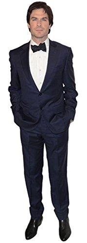 Celebrity Cutouts Ian Somerhalder (Suit) Pappaufsteller lebensgross