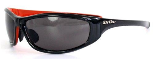 Strike Sportbrille/Sonnenbrille schwarz/orange