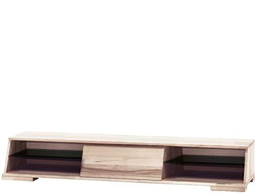TV-Bank Board Lowboard Fernsehtisch Fernsehschrank Buche Landhaus Rack 148 cm 1 Schublade 2 Fächer