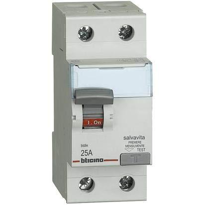 bticino G724F25 - Interruptor diferencial puro clase F 2 polos 25A - 300MA