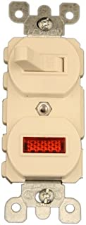 Best double light switch with neon Reviews