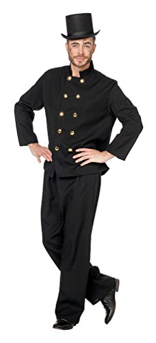 Stekarneval - Costume di Carnevale, soggetto: spazzacamino, da uomo, taglia 50-60