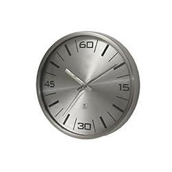 Modern Metal Wall Clock - Aluminum Dial