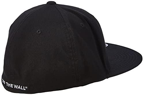 Vans Herren Splitz Baseball Cap, Schwarz (BLACK BLK), S/M