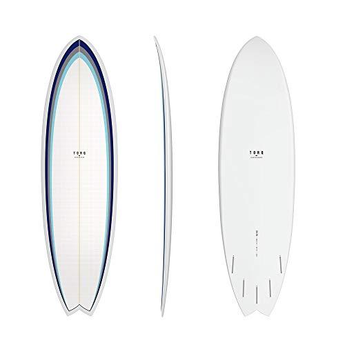 TORQ Tabla de surf Epoxy TET 6.3 MOD Fish Classic