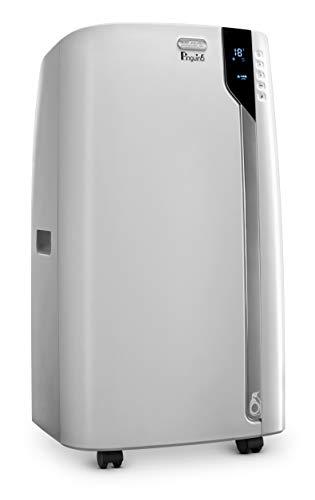 De'Longhi 14000 BTU Portable Air Conditioner, Dehumidifier & Fan + Cool Surround Remote w/Built-in Temperature Control Sensor &Quiet Mode, 700 sq ft, XLarge Room, Pinguino8600 BTU (DOE), White