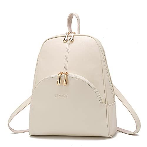 Nevenka Brand Women Bags Backpack PU Leather Zipper Bags Purse Casual Backpacks Shoulder Bags...