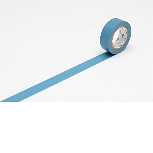"MT Solids Washi Paper Masking Tape, 3/5"" x 11 yd, Asahanada, Shallow Indigo (MT01P198) Photo #2"
