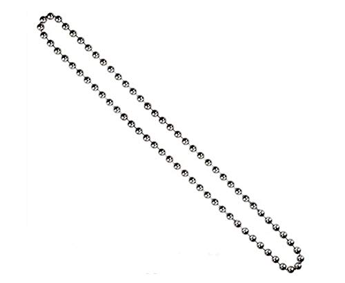 72 in. (6ft.) Continuous Chain Loop - #10 4.5mm - Nickel Plate for Clutch Roller Shades