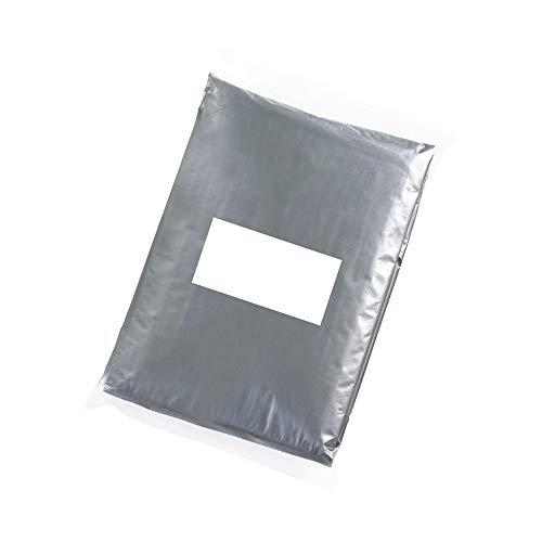eBuyGB Lot de 6 panchos imperméables à Capuche pour Homme Gris Transparent Taille XL